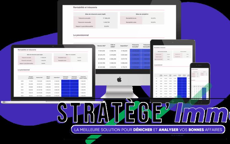 calcul rentabilité locative Excel, pour vous aider dans vos calculs de rendement locatif
